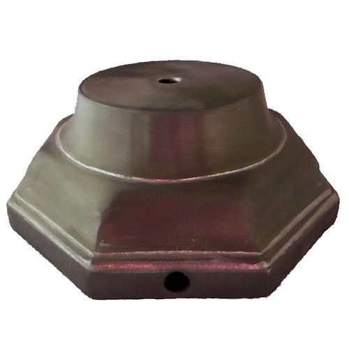 8-sided cast metal base