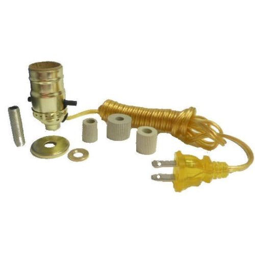BRASS BOTTLE KIT W/3 ADAPTERS-G