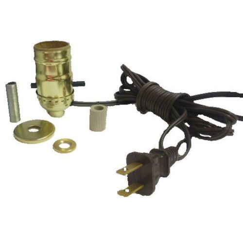 "BRASS BOTTLE KIT 5/8"" BRN CORD"