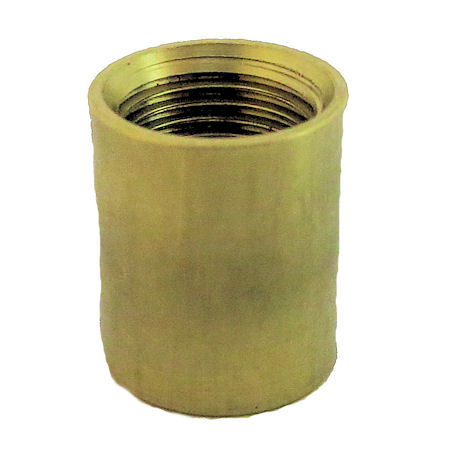PLAIN BRASS AND LAQUERED COUPLING