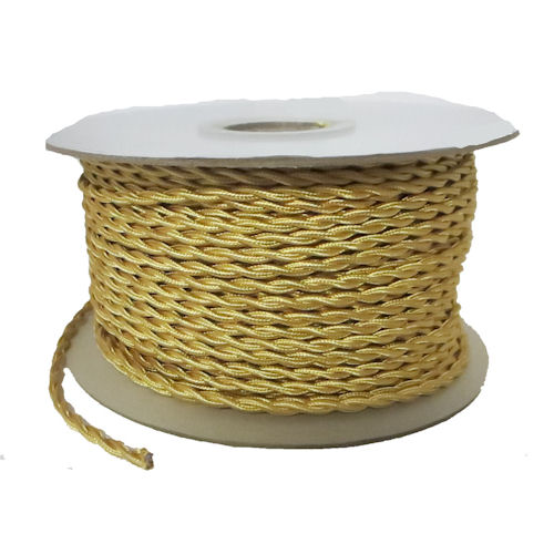 TWISTED GOLD RAYON WIRE