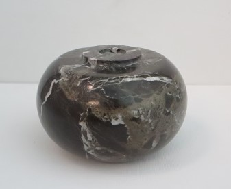"3 1/4"" OVAL MARBLE BALL"