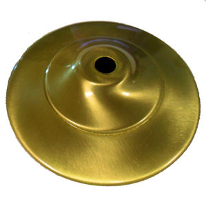 SATIN Brass Vase Caps