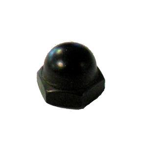 Black Cap Nut 8 32 Screw Hole Texas Lamp Parts