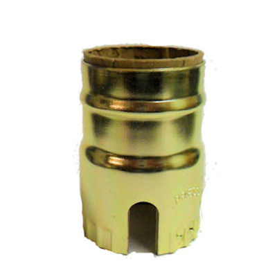 1-SLOT BRASS-PLATED SHELL