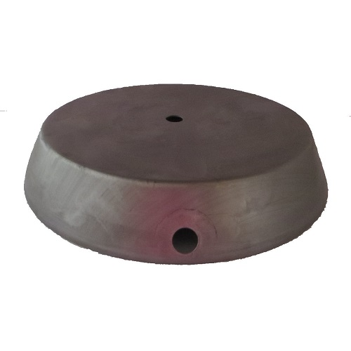 "6"" Steel Metal base"