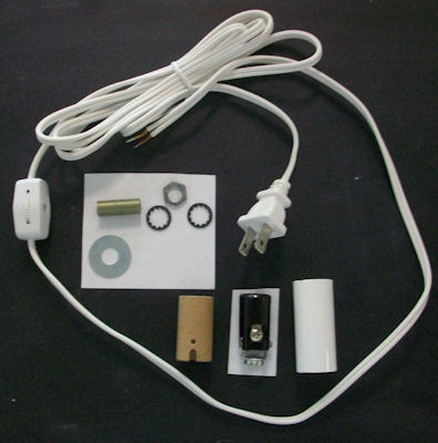 MINI-LAMP KIT WHITE CORD