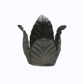 "1 1/2"" WIDE METAL LEAF"