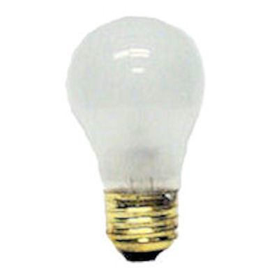 40W, FROSTED, MED-BASE, A-19 BULB