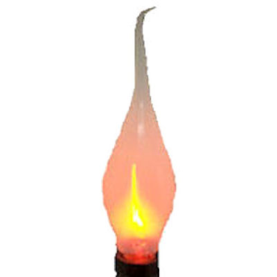 SILICONE FLICKER CANDELABRA BULBS