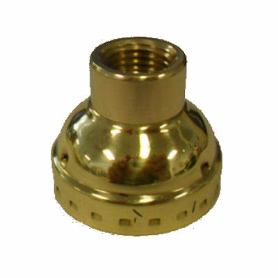 BRASS-PLATED CAP- LARGE HOLE