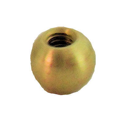 BRASS BALLS 8-32 SCREW HOLE