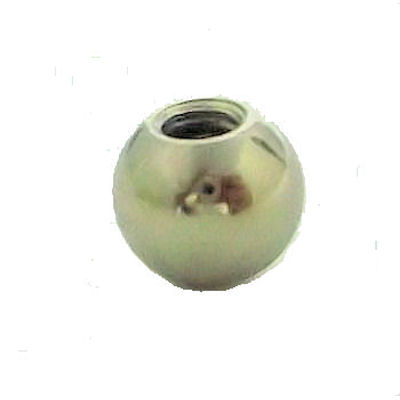 "3/8"" NICKEL BALL- SCREW HOLE"