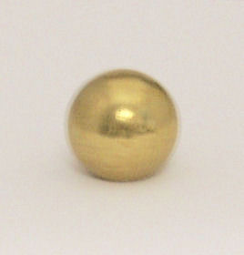 "7/8"" B & L BRASS BALL"