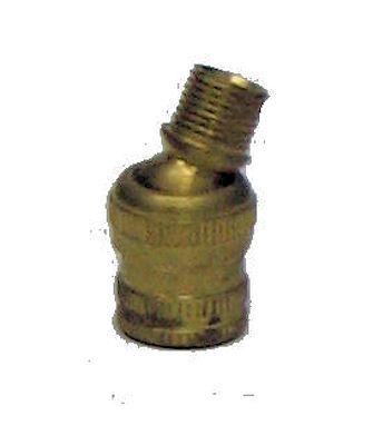 "1 1/4"" TALL BRASS SWIVEL"
