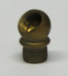 45 DEGREE BRASS NOZZLE