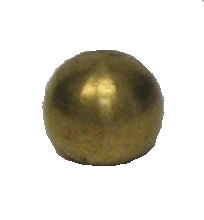 "1"" UNFINISHED BRASS BALL"