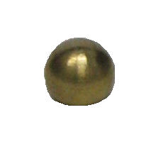 "5/8"" UNFINISHED BRASS BALL"