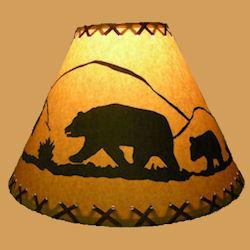 18 bear lamp shade texas lamp parts 18 bear lamp shade aloadofball Gallery