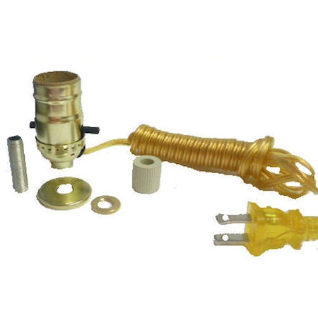 "BRASS BOTTLE KIT 3/4"" GOLD CORD"