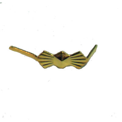 BRASS BOW-TIE CONNECTOR