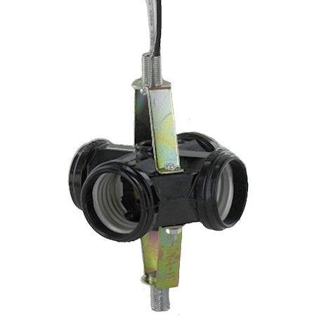 Cluster Fixture Sockets Texas Lamp Parts