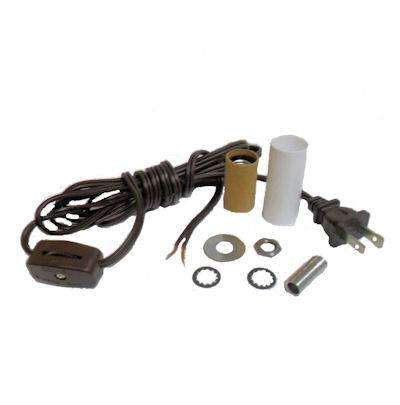 MINI-LAMP KIT BROWN CORD