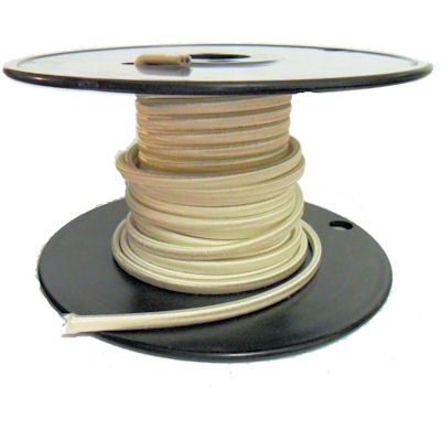 WHITE RAYON LAMP WIRE