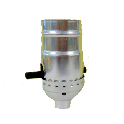 NICKEL PUSH-THRU SOCKET, SHELL, CAP