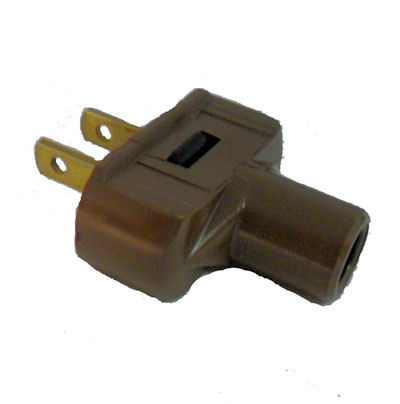 BROWN RUBBER PLUG