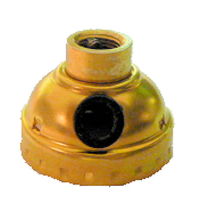 BRASS-PLATED SIDE HOLE CAP