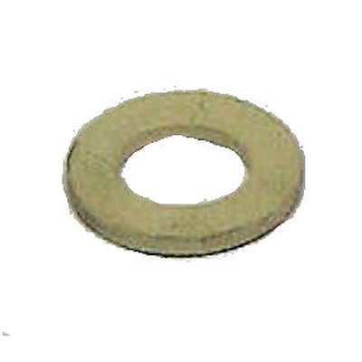 "3/4"" WHITE RUBBER WASHER 3/8"" HOLE"