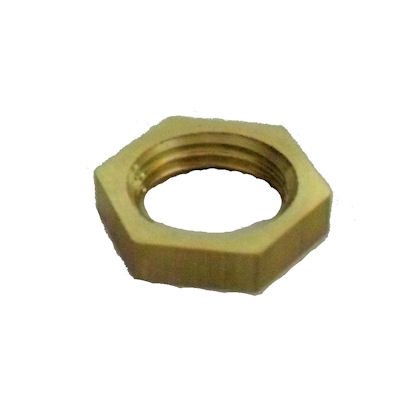 SOLID BRASS HEX NUT 1/8 IPS