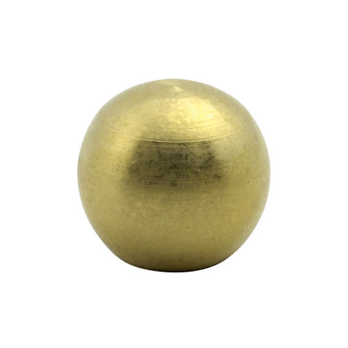 "1 1/8"" UNFINISHED BRASS BALL"